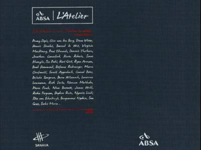 Absa Atelier 2013